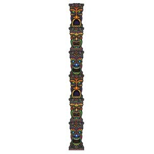 Luau Tiki Totem Pole Jointed Ea Party Supplies