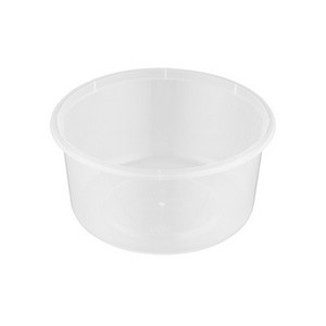 Genfac 100ml Small Round Container Pk 50 Party Supplies