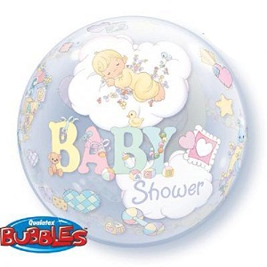Balloon Bubble Precious Moments Baby Shower Ea | Party Supply