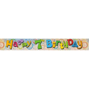 Lombard The Paper People   Party Supplies - Banner Foil 3 ...