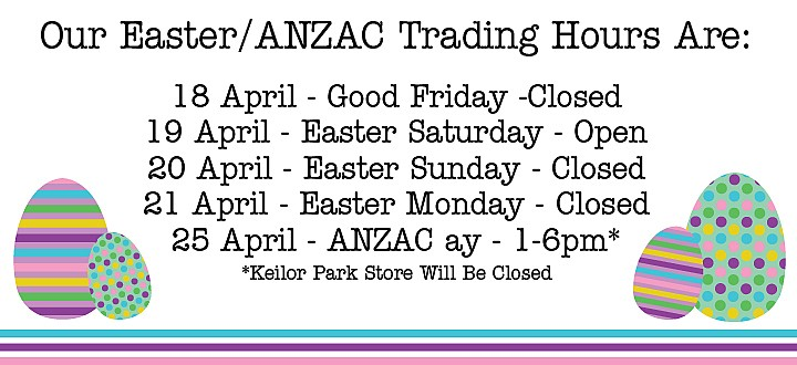 easter monday trading hours - photo #8