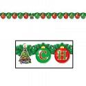 Christmas Streamer Banner 165cm Ea