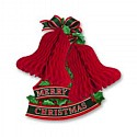 Christmas Bells Red Tissue Decoration Ea