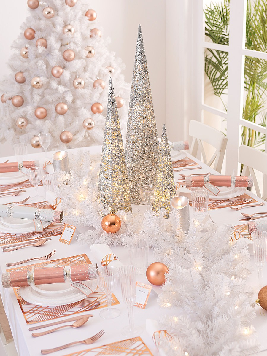 Christmas from table to tree party supplies decorations